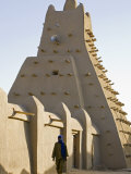 Timbuktu  the Sankore Mosque at Timbuktu Which Was Built in the 14th Century  Mali