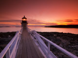 Maine  Port Clyde  Marshall Point Lighthouse  USA