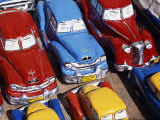 Handicraft Market and Classic Car Models for Sale in World Heritage Town of Trinidad  Eastern Cuba