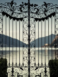 Ticino  Lake Lugano  Lugano  Parco Civico Gate Lake View  Switzerland