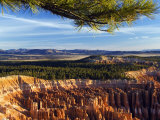 Bryce Canyon National Park  Colourful Rock Pinnacles  Hoodoos at Inspiration Point  Utah