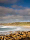 England  Cornwall  Whitesand Bay  Sennen Cove  UK