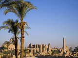 Panorama over the Sprawling Ruins of Karnak Temple  Luxor