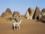 Situated a Short Distance East of Nile  Ancient Pyramids of Meroe are an Important Burial Ground