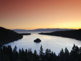 California/Nevada  Lake Tahoe  Emerald Bay  USA
