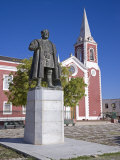Statue of Vasco De Gama Stands in Front of the Old Governor&#39;s Palace on the Ilha Do Mozambique