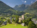 Castle  Luz-Saint-Sauveur  Midi-Pyrenees  France