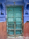 Typical Blue Architecture  Jodhpur  Rajasthan  India