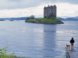 Castle Stalker  Near Portnacroish  Argyll  Scotland