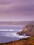 England  Cornwall  Lands End Looking North Towards Sennen Cove  UK