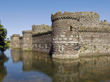 Wales  Anglesey  Beaumaris Castle Is One of Iron Ring of Castles Build by Edward I