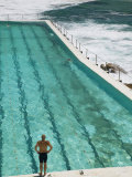 New South Wales  Sydney  Bondi Beach  Bondi Icebergs Swimming Club Pool  Australia