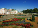 Flower Garden in Kadriorg Palace Built Between 1718-36  Residence of the President of Tallinn