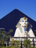 Nevada  Las Vegas  Luxor Casino Pyramid and Sphinx  USA