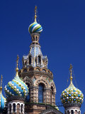 St Petersburg  the Church on Spilt Blood  Russia