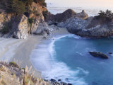 California  Big Sur Pacific Coastline  Julia Pfeiffer Burns State Park  Mcway Falls  USA