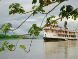 Ayapua Riverboat Making Way Up Amazon River at End of Earthwatch Expedition to Lago Preto  Peru