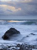 Early Morning at Widemouth Bay  Cornwall  UK