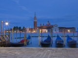 Gondolas  St  Mark&#39;s Square  Venice  Italy
