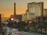 Nevada  Las Vegas  the Strip  USA