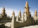 Niger  the Minarets of Kotaka Mosque  Mali