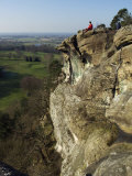 Shropshire  Hawkstone Park with a Series of Sandstone Cliffs  Grottoes  and Caves  England