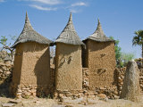 Dogon Country  A Small Settlement Built Among Rocks Near the Dogon Village of Koundu  Mali
