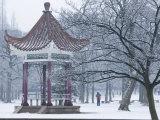 Shandong Province  Qingdao  Old Town  Luxun Park Pagoda  China