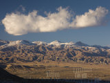 California  Palm Springs  San Bernardino Mountains and Wind Generators  USA