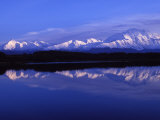 Mount Mckinley from Reflection Lake  Denali National Park  Alaska  USA