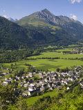 Village D'Aucun and Arrens-Marsous  Hautes-Pyrenees  Midi-Pyrenees  France