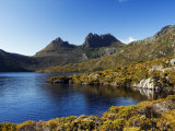 Dove Lake on 'Cradle Mountain-Lake St Clair National Park'  Tasmania  Australia