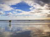 San Juan Del Sur  Playa Madera  Surfer  Nicaragua