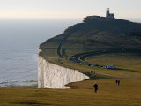 East Sussex  Beachy Head Is a Chalk Headland on South Coast of England  England