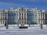 St Petersburg  Tsarskoye Selo  Catherine Palace Was Commissioned by the Empress Elizabeth  Russia