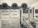 Piedmont  Lake Maggiore  Cannobio  Lake Ferry Timetable  Italy