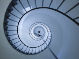 La Paloma  Atlantic Ocean Resort Town  Cabo Santa Maria Lighthouse  Interior Stairs  Uruguay