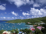 Cruz Bay  St  John  Us Virgin Islands  Caribbean