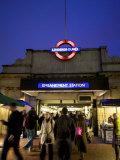 Underground Station  London  England