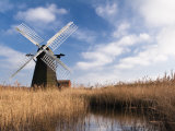 Herringfleet Drainage Mill  Suffolk  UK