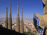 Sagrada Familia Cathedral  Barcelona  Spain