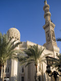 Mosque of Abu Al-Abbas Al-Mursi  One of the Landmarks Along the Corniche at Alexandria  Egypt