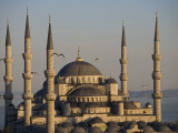 Blue Mosque  Istanbul  also known as the Sultanhamet Mosque  Gives its Name to the Surrounding Area