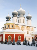 Uspensky Cathedral  Bogorodichno-Uspenskij Monastery  Tikhvin  Leningrad Region  Russia