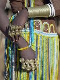 Finery of a Datoga Woman, Tanzania Papier Photo par Nigel Pavitt