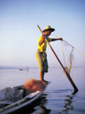 Fisherman  Lake Inle  Burma