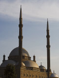 Ottoman Style Mosque of Mohammed Ali Stands on Top of the Citadel  Looking Out over Islamic Cairo  