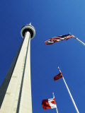Cn Tower at 533 M or 1 815 Ft High  Canada&#39;s Wonder of the World  in Downtown Toronto