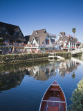 California  Los Angeles  Venice  Homes Along Venice Canals  USA