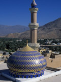 Nizwa Mosque  Nizwa  Oman  One of the Oldest and Most Famous Forts in Oman Is the One at Nizwa